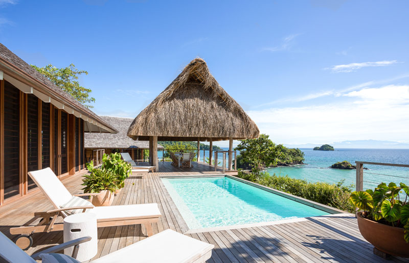 Lounge away and enjoy the Pacific Ocean views at Islas Secas Reserve & Lodge.