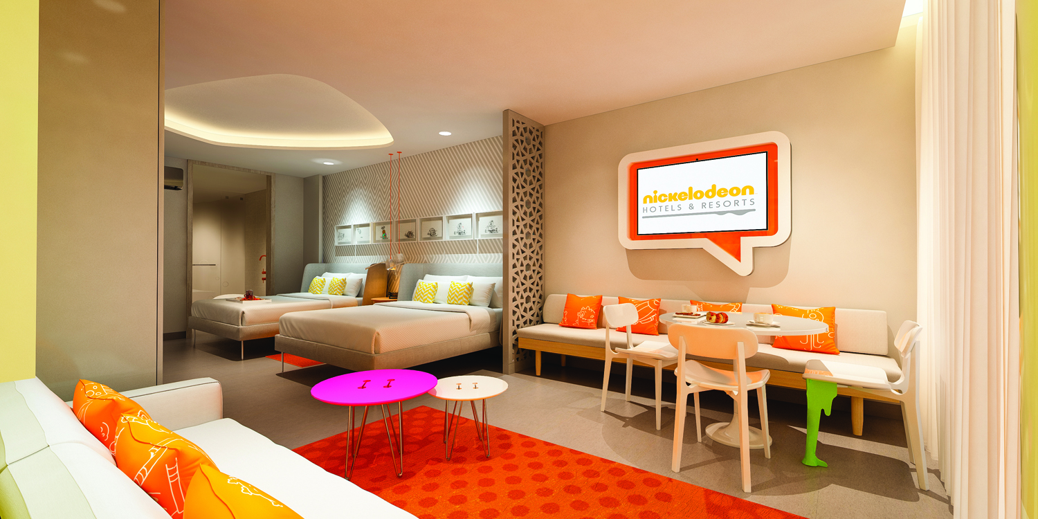 The Nickelodeon Hotels & Resorts Riviera Maya is set to open next year.