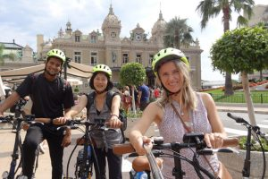 Biking tours in Monaco. (Photo courtesy of the Wellness Tourism Association.)