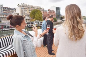 Guests aboard a sailing with U by Uniworld. (Photo courtesy of U by Uniworld.)