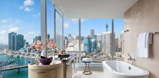 The Sofitel Sydney Darling Harbour is the city's first new-build, five-star hotel in more than 15 years.