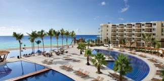 Dreams Riviera Cancun Resort & Spa is one of several resorts participating in Travel Impressions' promotions for March.