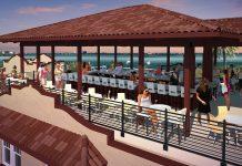 Fenway Hotel's Hi-Fi Rooftop Bar.