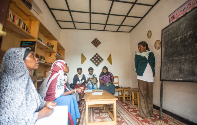 The Nyamirambo Womens Center in Kigali, Rwanda is one of several community development projects that travelers can visit through G Adventures. (Photo Credit: Planeterra Foundation)