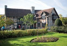 Shakespeare's Birthplace.