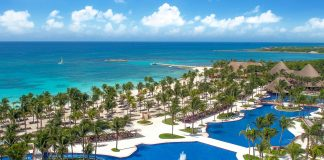 Family Travel at Barcelo Maya Grand Resort.