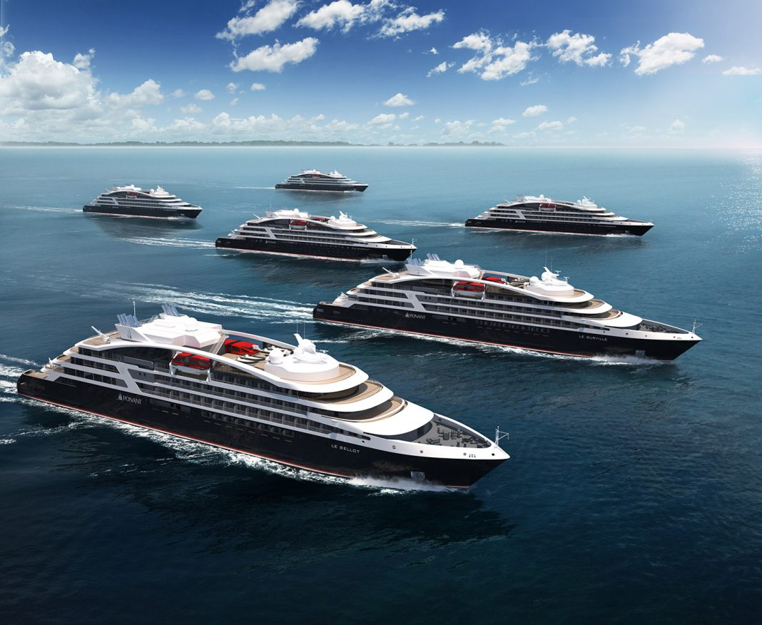 Ponant's EXPLORERS series will include six ships by 2021.
