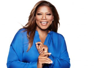 Queen Latifah, the godmother of Carnival Cruise Line's Carnival Horizon.