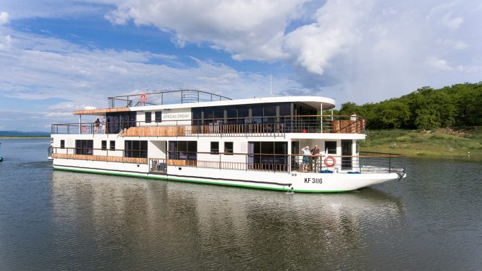 CroisiEurope guests will sail aboard the RV African Dream on the cruise line's new land-and-cruise package in Africa.