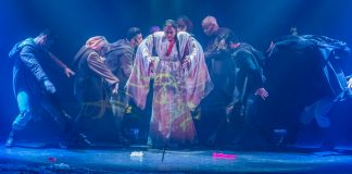 The Secret Silk, a musical exclusively for Princess Cruises, tells the story of an ancient Asian folktale.