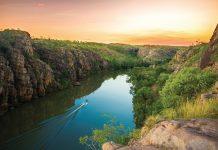 Nitmiluk Gorge in Australia's Northern Territory. (Tourism NT)