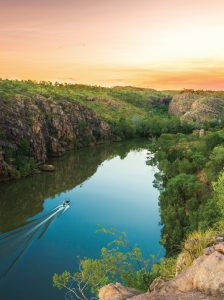 Nitmiluk Gorge in Australia's Northern Territory. (Tourism NT)