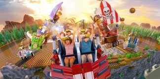The Great LEGO Race will transform the existing Project X roller coaster into a high-octane, virtual reality (VR) experience. (Photo courtesy of LEGOLAND.)