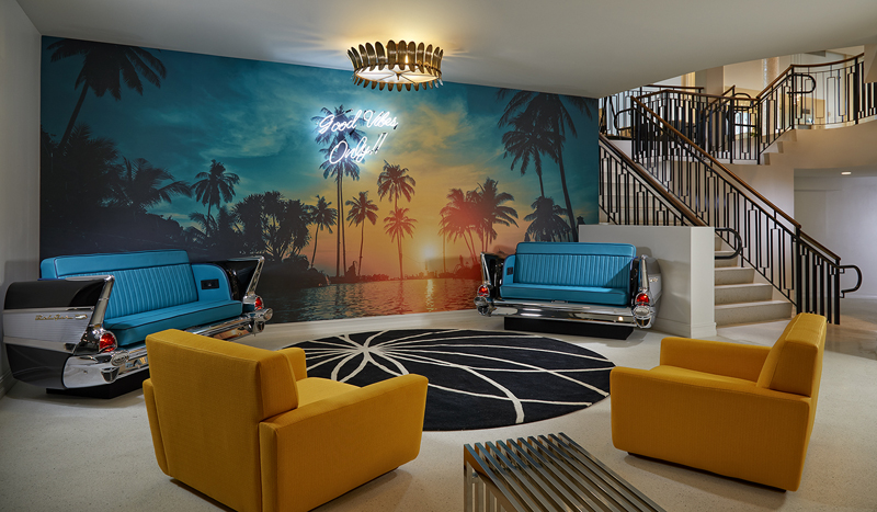 Eclectic vibes Hard Rock Hotel Daytona Beach (photo credit: Architectural Photography Inc)