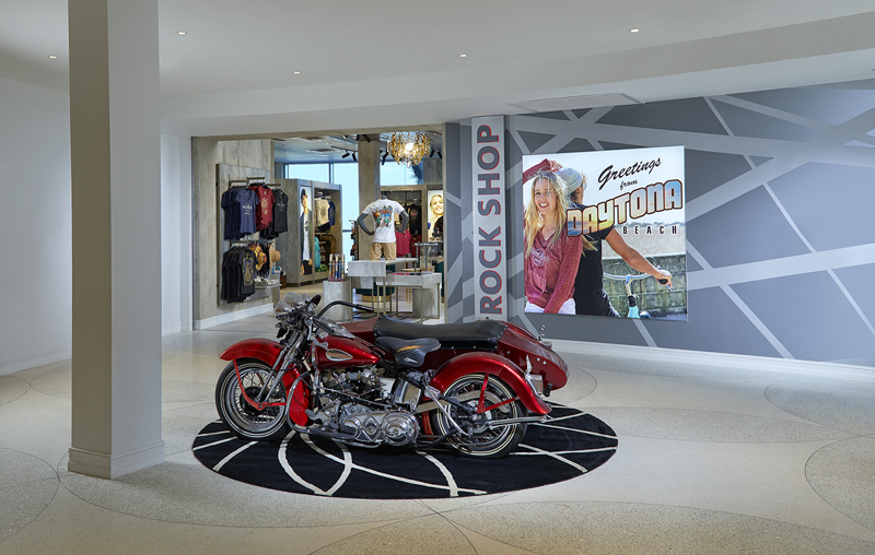The Rock Shop at Hard Rock Hotel Daytona Beach (photo credit: Architectural Photography Inc)