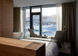 guestrooms at Retreat at Blue Lagoon Iceland.