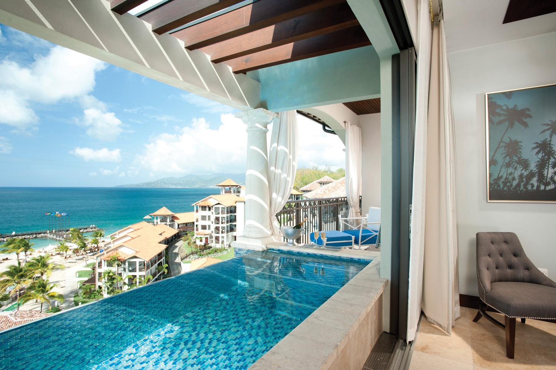 Sandals Grenada.