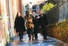 In Nottingham, visitors can go on a Robin Hood-guided tour of the city.