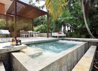 Private pool at the resort's Royal Suite.
