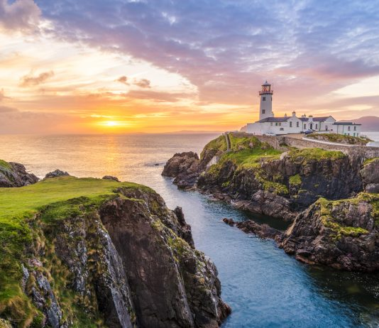 Fanad Head Lighthouse. Co. Donegal, Ireland. Experiential Tours