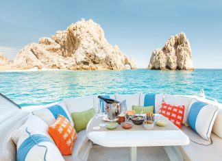 The Resort at Pedregal in Los Cabos is offering a yacht experience. (Julieta Amezcua Photography)
