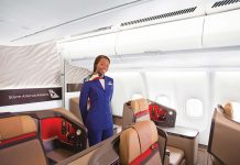South African Airways is the most awarded airline on the African continent.