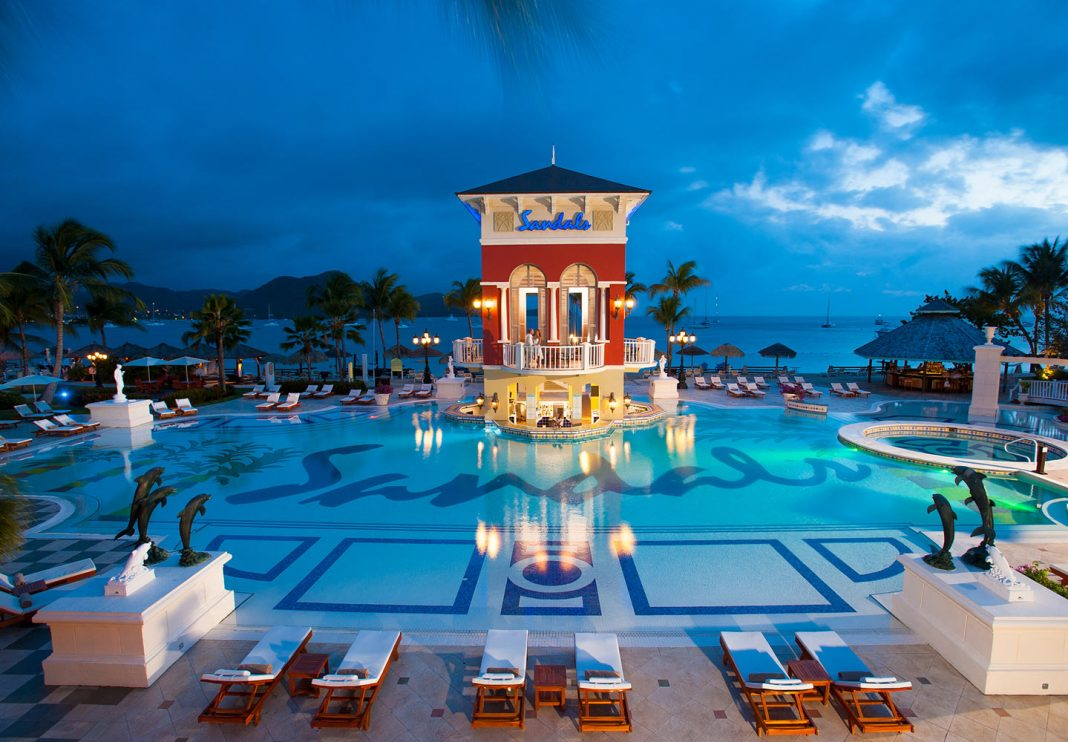 Sandals Resort's new travel agent rewards program debuted on April 5, 2018.