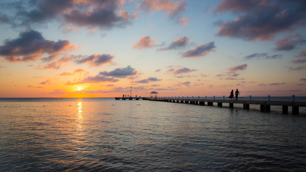 Cayman Islands The dock at Rum Point - Photo Credit, Will Burrard-Lucas
