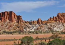Alice Springs is one area of the Australian Outback where visitors can fly for free with the Tourism Northern Territory offer.