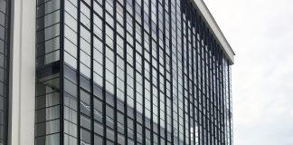 Bauhaus building in Dessau. Germany