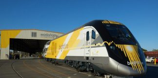 Brightline rail service will connect Miami, Fort Lauderdale, and West Palm Beach.