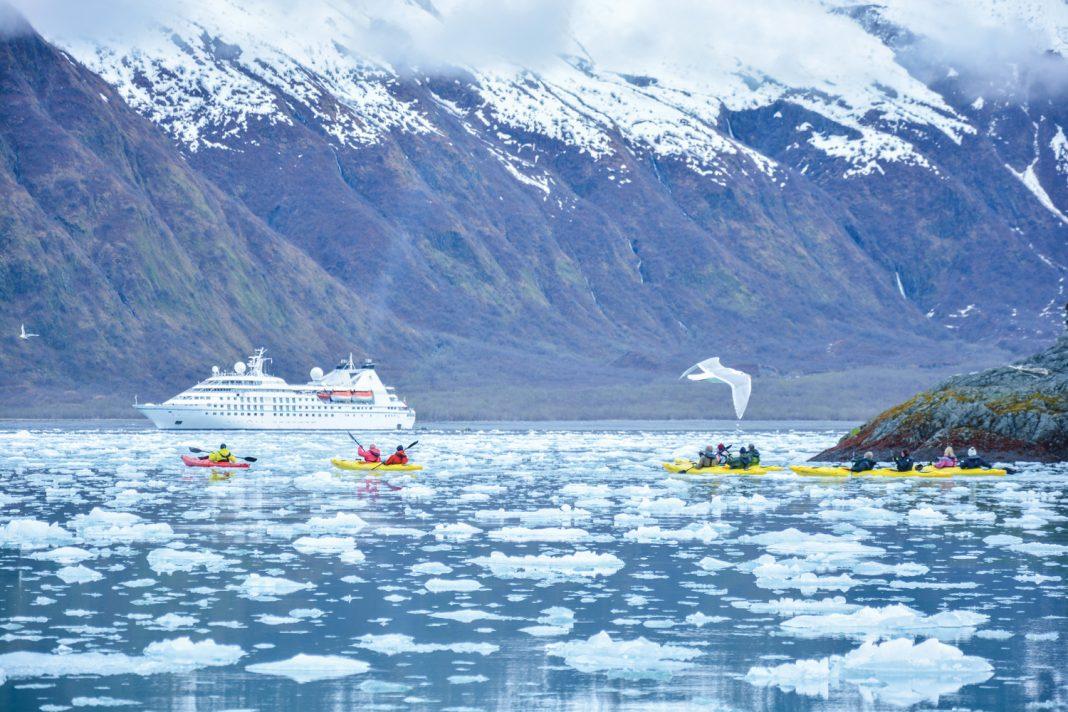 Windstar Cruises is sailing to Alaska, an ideal spot for active honeymooners.