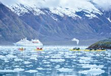 Windstar Cruises is sailing to Alaska, an ideal spot for active honeymooners.