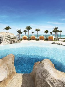 Grand Hyatt Baha Mar's Blue Hole Pool.