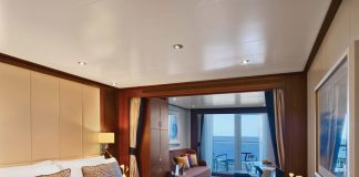 Veranda Suite on board the Ovation.