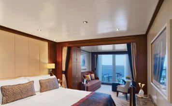 Veranda Suite on board the Ovation.