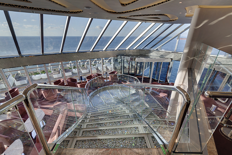 MSC Seaside, MSC Yacht Club - Top Sail Lounge.