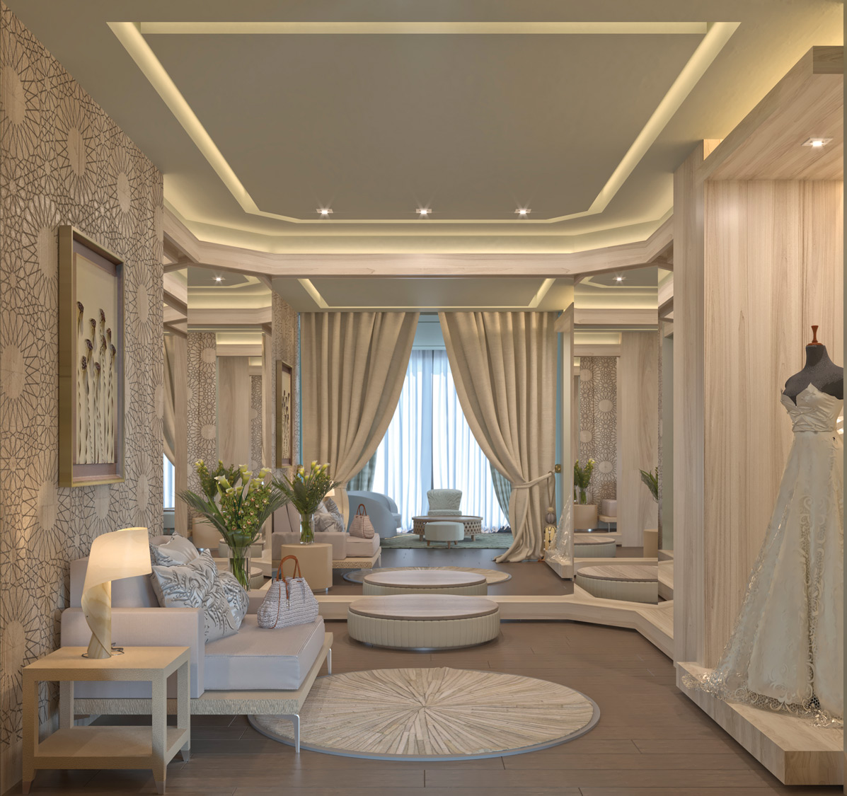 bridal suite at Haven Riviera Cancun.