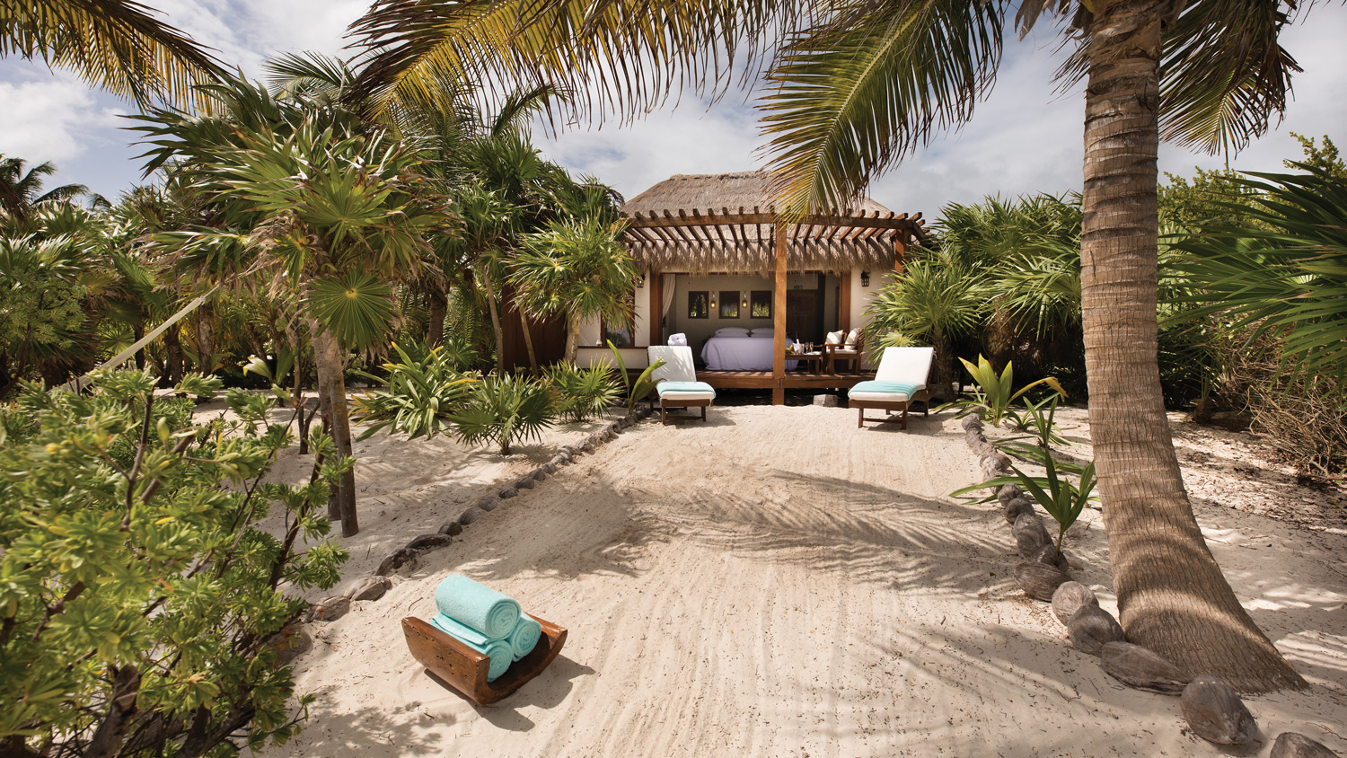 Secluded bliss at the Mukan Resort near Tulum.