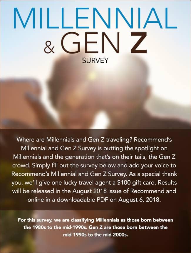 Millennial Gen Z Survey