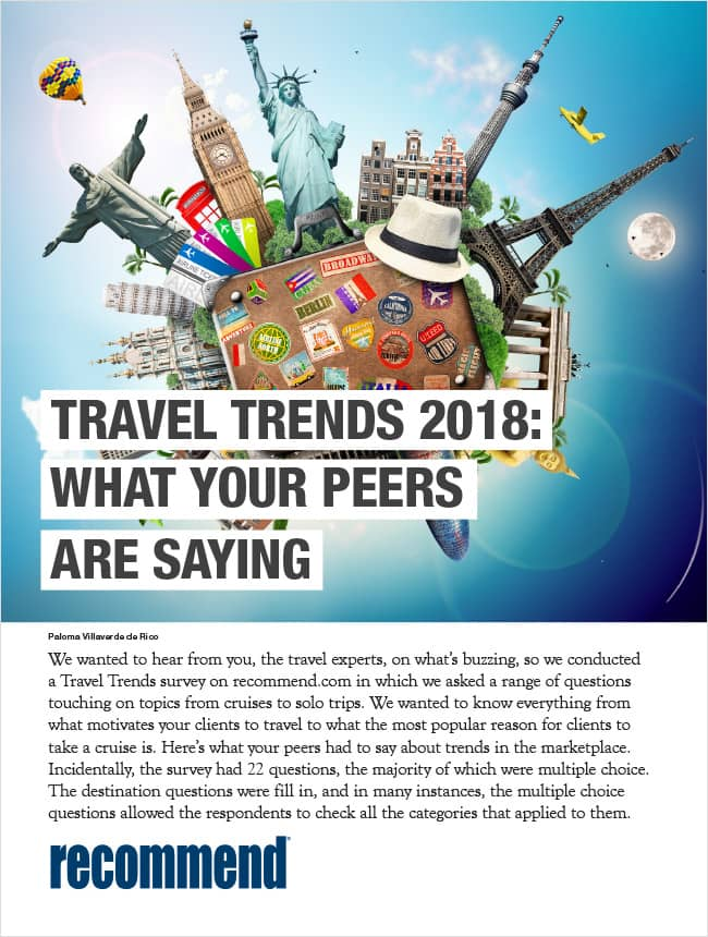 Travel Trends 2018