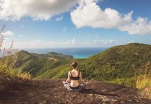 Yoga week at Carlisle Bay in Antigua.