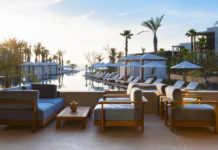 The pool lounge at Chileno Bay Resort & Residences.