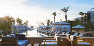 The pool lounge at Chileno Bay Resort & Residences.