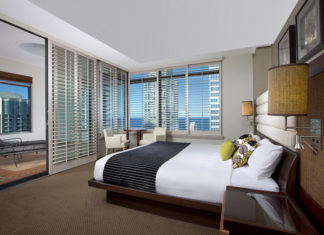 A King Suite inside the Watermark Hotel & Spa Gold Coast, which will soon part of InterContinental Hotels Group's new luxury brand.