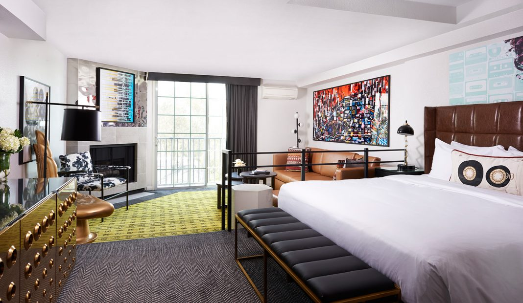 Travelers booking the Pride Summer Package at Montrose West Hollywood will stay in one of the property's recently redesigned guestrooms.