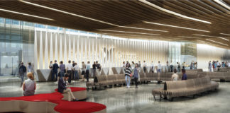 Rendering of Celebrity Cruises' new terminal at Port Everglades.