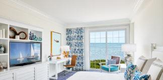 Guest room inside Isla Bella Beach Resort.