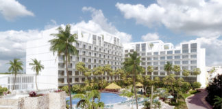 Renderings show the newly restored Sonesta Maho Beach Resort, Casino & Spa.