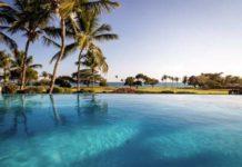The view from the Villa Cielo Azul pool at Casa de Campo Resort & Villas.